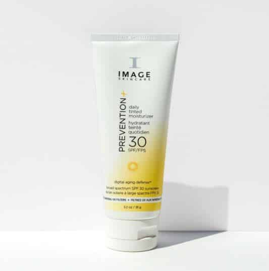 imageskincare review skin product PREVENTION+ daily tinted moisturizer SPF 30+